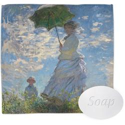 Promenade Woman by Claude Monet Washcloth