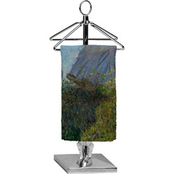 Promenade Woman by Claude Monet Finger Tip Towel - Full Print