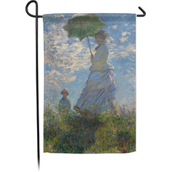 Promenade Woman by Claude Monet Garden Flag - Single or Double Sided