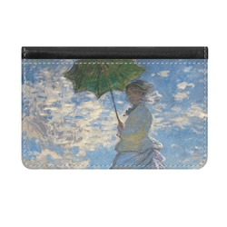 Promenade Woman by Claude Monet Genuine Leather ID & Card Wallet - Slim Style