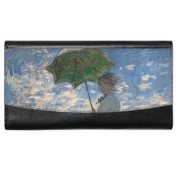 Promenade Woman by Claude Monet Genuine Leather Ladies Wallet