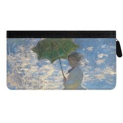 Promenade Woman by Claude Monet Genuine Leather Ladies Zippered Wallet