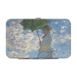 Promenade Woman by Claude Monet Genuine Leather Small Framed Wallet