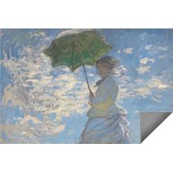 Promenade Woman by Claude Monet Indoor / Outdoor Rug
