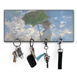 Promenade Woman by Claude Monet Key Hanger w/ 4 Hooks