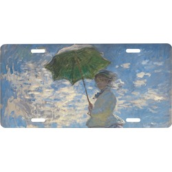 Promenade Woman by Claude Monet Front License Plate