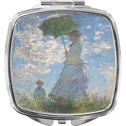 Promenade Woman by Claude Monet Compact Makeup Mirror