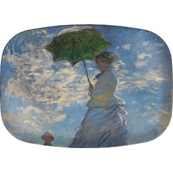 Promenade Woman by Claude Monet Melamine Platter
