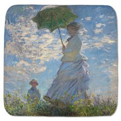 """Promenade Woman by Claude Monet Memory Foam Bath Mat - 48""""x48"""""""