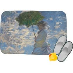 Promenade Woman by Claude Monet Memory Foam Bath Mat