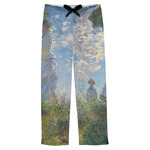 Promenade Woman by Claude Monet Mens Pajama Pants