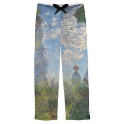 Promenade Woman by Claude Monet Mens Pajama Pants