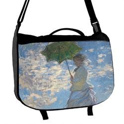 Promenade Woman by Claude Monet Messenger Bag