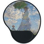 Promenade Woman by Claude Monet Mouse Pad with Wrist Support