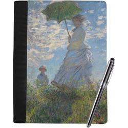 Promenade Woman by Claude Monet Notebook Padfolio