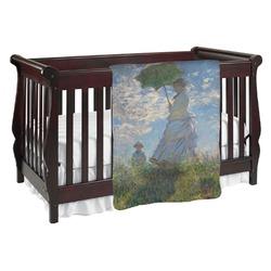 Promenade Woman by Claude Monet Baby Blanket