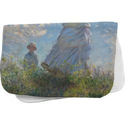 Promenade Woman by Claude Monet Burp Cloth