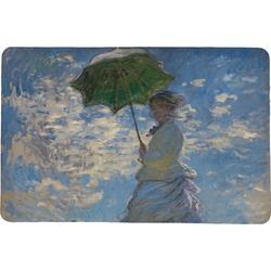 Promenade Woman by Claude Monet Comfort Mat