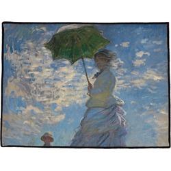 Promenade Woman by Claude Monet Door Mat