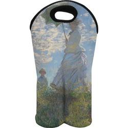 Promenade Woman by Claude Monet Wine Tote Bag (2 Bottles)