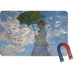 Promenade Woman by Claude Monet Rectangular Fridge Magnet