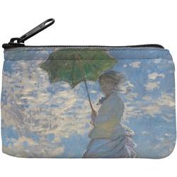 Promenade Woman by Claude Monet Rectangular Coin Purse