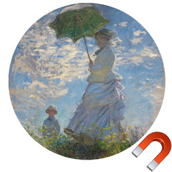 Promenade Woman by Claude Monet Car Magnet
