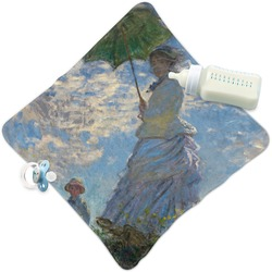 Promenade Woman by Claude Monet Security Blanket