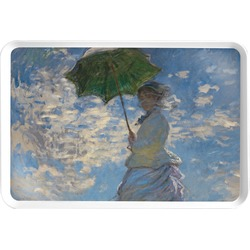 Promenade Woman by Claude Monet Serving Tray