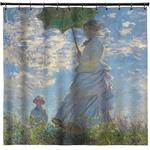 Promenade Woman by Claude Monet Shower Curtain