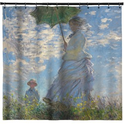 Promenade Woman by Claude Monet Shower Curtain