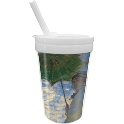 Promenade Woman by Claude Monet Sippy Cup with Straw
