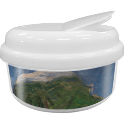 Promenade Woman by Claude Monet Snack Container