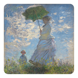 Promenade Woman by Claude Monet Square Decal