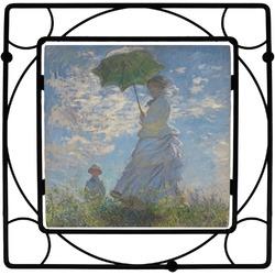 Promenade Woman by Claude Monet Trivet
