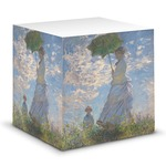 Promenade Woman by Claude Monet Sticky Note Cube