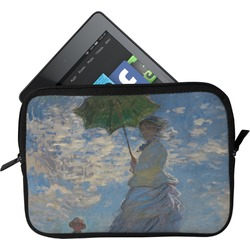 Promenade Woman by Claude Monet Tablet Case / Sleeve