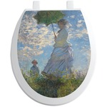 Promenade Woman by Claude Monet Toilet Seat Decal