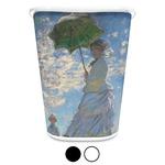 Promenade Woman by Claude Monet Waste Basket