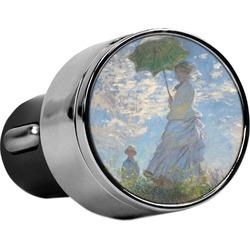 Promenade Woman by Claude Monet USB Car Charger