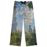 Promenade Woman by Claude Monet Womens Pajama Pants