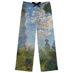 Promenade Woman by Claude Monet Womens Pajama Pants