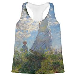Promenade Woman by Claude Monet Womens Racerback Tank Top