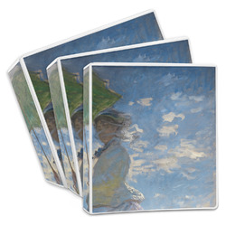 Promenade Woman by Claude Monet 3-Ring Binder