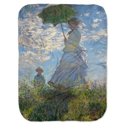 Promenade Woman by Claude Monet Baby Swaddling Blanket