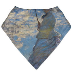 Promenade Woman by Claude Monet Bandana Bib