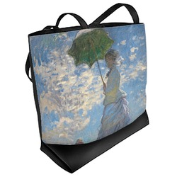 Promenade Woman by Claude Monet Beach Tote Bag