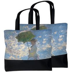 Promenade Woman by Claude Monet Beach Tote Bag