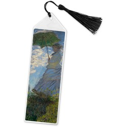Promenade Woman by Claude Monet Book Mark w/Tassel
