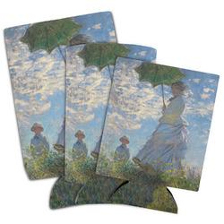 Promenade Woman by Claude Monet Can Cooler